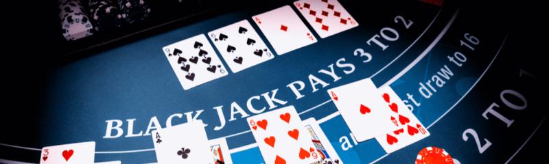 لعبة بلاك جاك اون لاين
